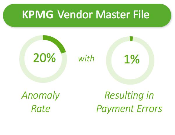 Vendor master file